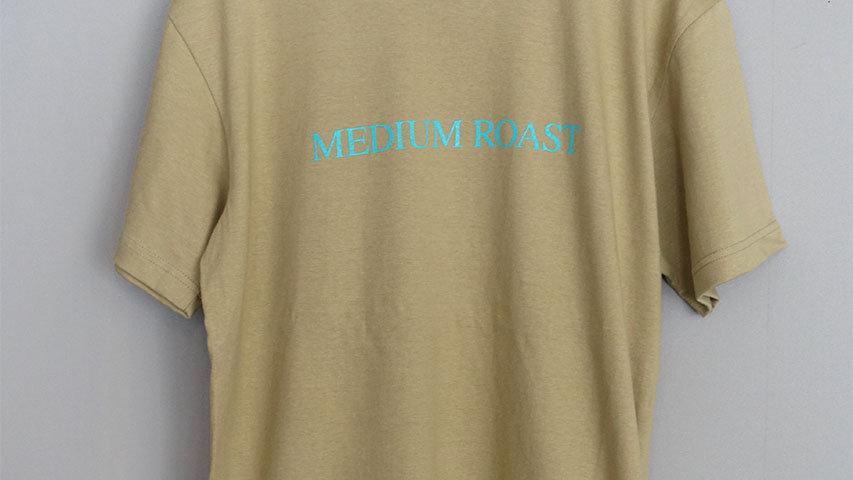 ロースターTシャツ(MEDIUM ROAST)