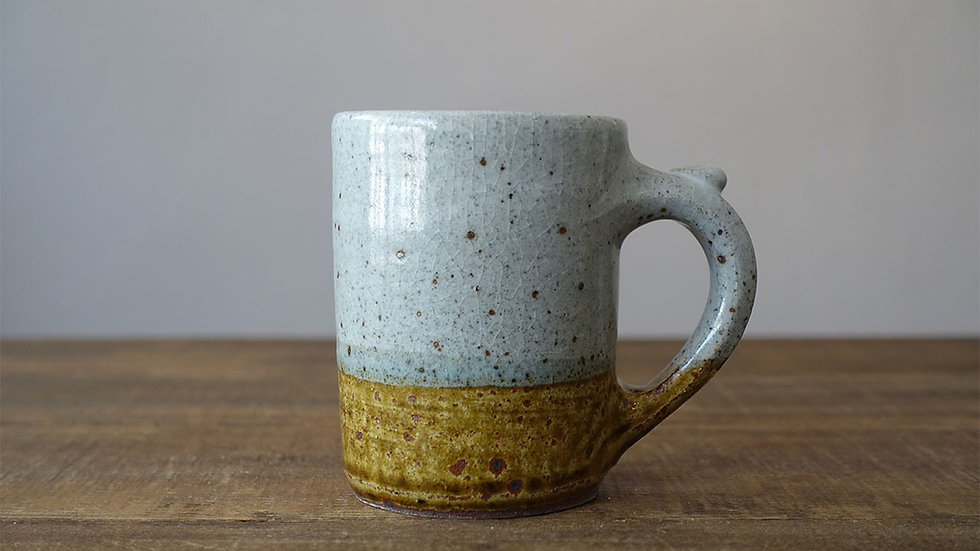 オリジナル陶器マグ(飴釉)
