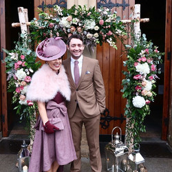 💕Winter Wedding Outfit💕__On Friday we attended the most amazing wedding in the _lougherneresort Re