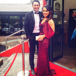 Wonderful night with my husband at the Women in Business Awards in Derry 😊 #fashion #style #maninat