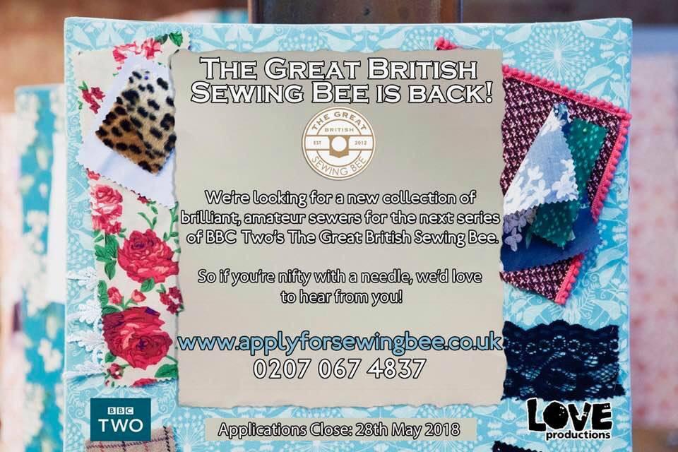 GBSB, GBSB 2018, sewing bee