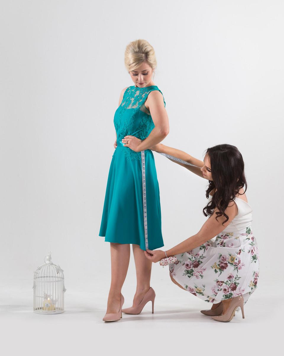 Green dress, bridesmaid dress, style, angeline