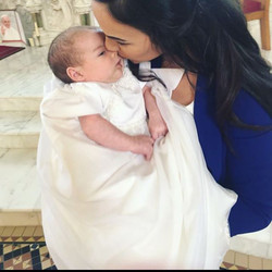 #molliemakersweek My sons christening gown has to be my fave make! I made the gown from my mothers w
