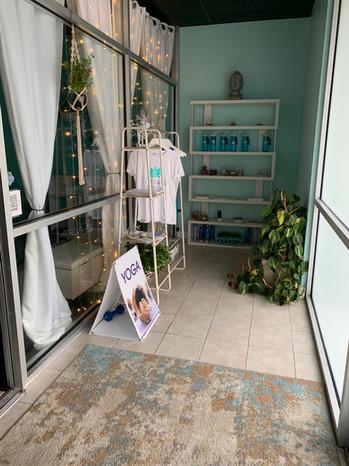 Yoga Blossom retail space