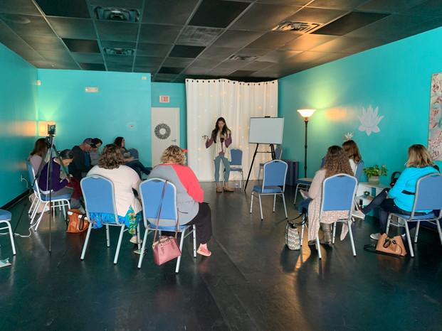 Debbie Denova workshop