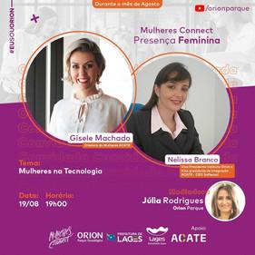 Webinar abordará presença e inclusão de mulheres na tecnologia