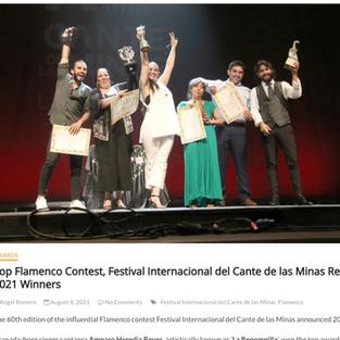 World Music Center Article on Festival de Cante de las Minas Finals