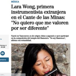 Articulo en El Mundo (spanish)