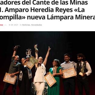 DeFlamenco- Ganadores del Cante de las Minas