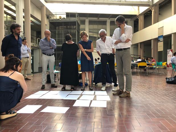 Antonio Scarponi / Conceptual Devices, Living Archive, workshop, Salone dei 2000, Ivrea, 2018.