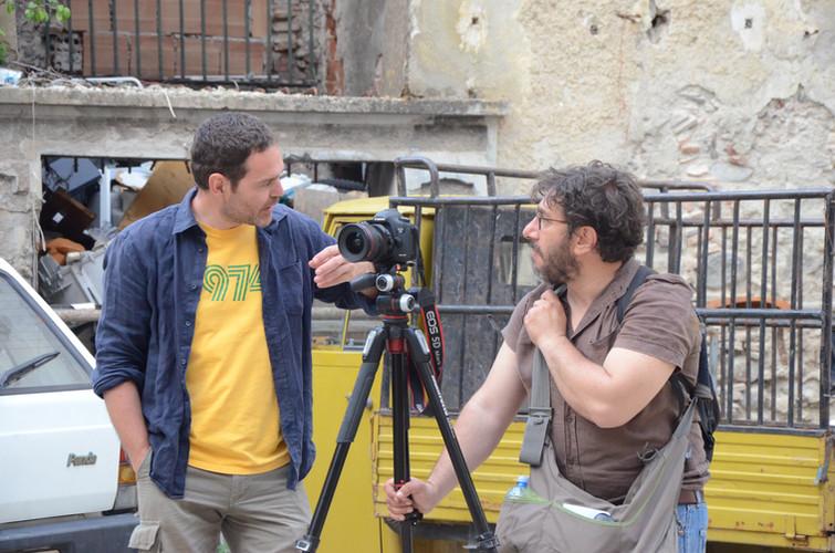 Antonio Scarponi and Filippo Romano, Cosenza Selva Oscura, work in progress.