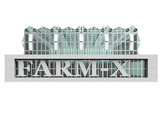 """Food has historically been grown in areas of low real-estate interest, far from densely populated settlements usually described as """"cities"""".   Farm-X is a modular vertical farm concept that shifts the historical dichotomy between production and food consumption. It grows up to 5t / day of fresh food in 1000 Sqm using specific hydroponic farming techniques in a fully controlled environment to maximize the productivity of leaf and fruit vegetables.  Farm-X is conceived as a device for the production of food and the city itself. Farm-X is a reactivation of abandoned warehouses plots, widely diffused within the US urban city fabrics. It is designed to operate as catalysts for urban reactivation, providing employment and exchange energy and services within any urban development complex.  The optimal size of a farm corresponds to a medium-sized urban block (32m x 32m) at four stories in height. This new building typology can be easily integrated into any modern urban fabric and play an active role in local community development with compact construction. Farm-X is designed to optimize its cost-effectiveness and replicability. Thanks to its flexible layout, after a neighbourhood reactivation is completed, the farm can be moved elsewhere, or it can be adapted to another functional program by removing the lightweight hydroponic equipment.  Farm-X can also generate energy by processing green waste, creating a close loop between people, food, waste, power within the urban environment. Farm-X is designed to reduce food distribution and production distance and reduce the reach of waste dismantlement by re-integrating it to the farm to produce energy."""
