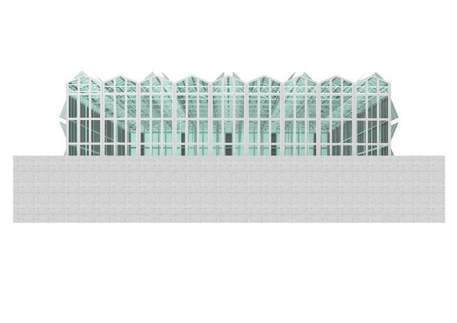 Antonio Scarponi / Conceptual Devices, Farm-X, Facade, 2014.