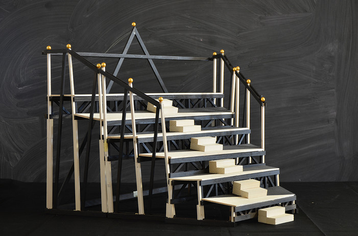 Antonio Scarponi / Conceptual Devices, Jericho Rose, sketch model, 2020.