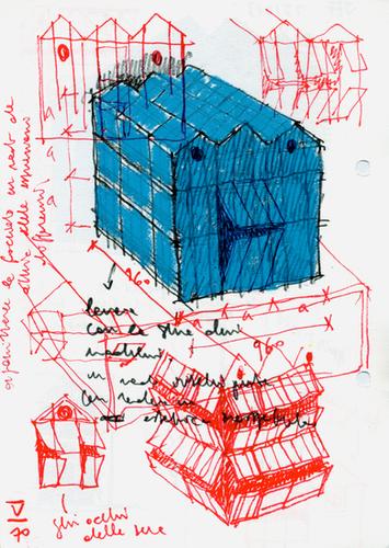 Antonio Scarponi / Conceptual Devices, Farm-X, facade study, 2014.