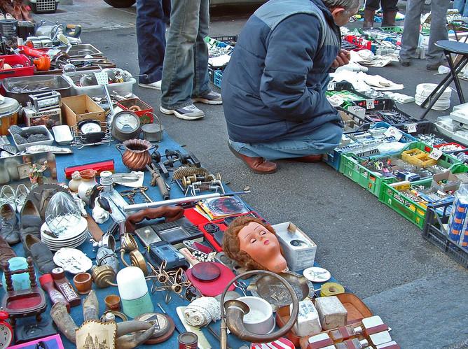 Porta Palazzo's Flea Market, Torino, Italy, 2008.
