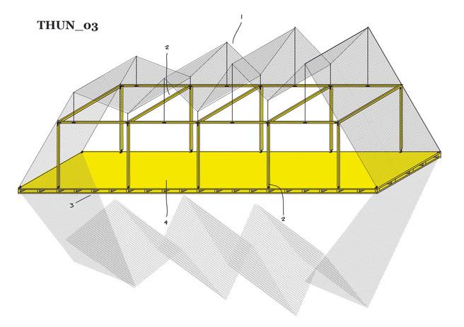 Antonio Scarponi / Conceptual Devices, T(h)UN, 2015. Digital drawing.