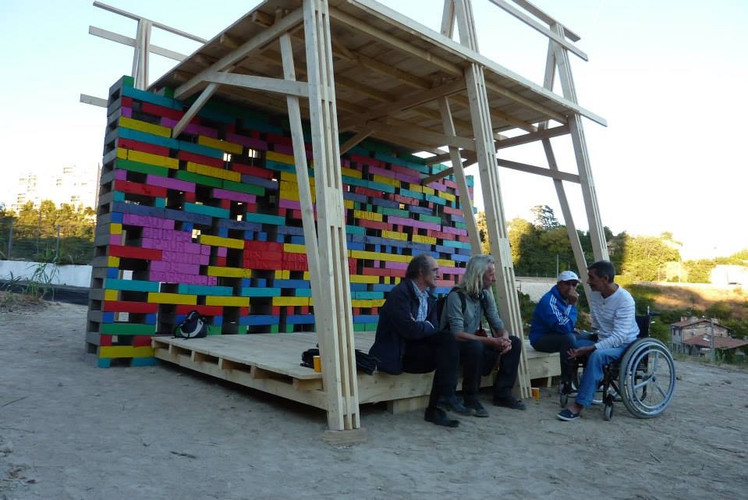 Antonio Scarponi / Conceptual Devices, Brick of Marseilles, 2013. Prototype in scale 1:1.