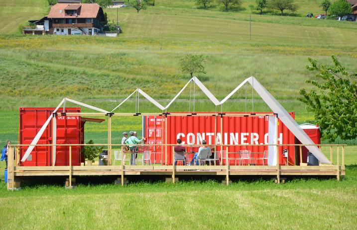 Antonio Scarponi / Conceptual Devices, T(h)UN, 2015. Prototype, Art Container, Steffisburg, 2015.