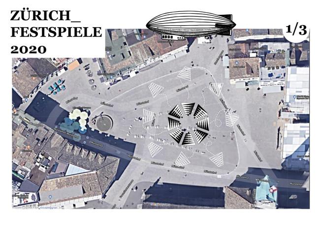 Antonio Scarponi / Conceptual Devices, Jericho Rose. Space activation diagram, 2020.