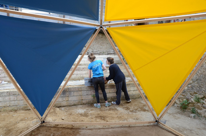 Antonio Scarponi / Conceptual Devices, Cosenza Selva Oscura, opening day. Photo ©Filippo Romano.