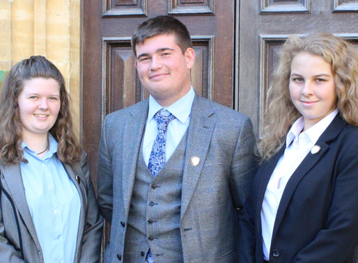 Get to Know Us Better: Q and A with this year's Head Boy, Head Girl, and Chair of Student Council