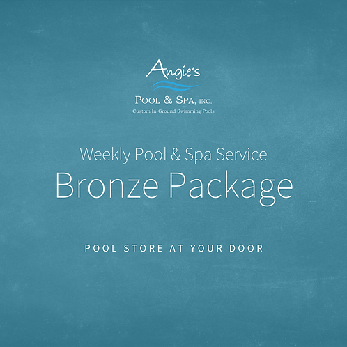 Weekly Service | Bronze Package