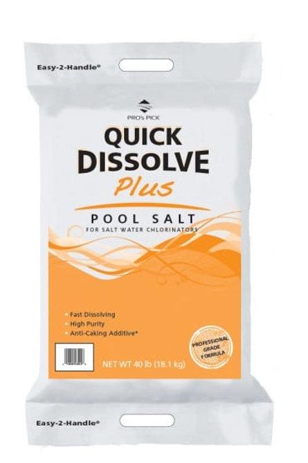 Pro's Pick Quick Dissolve Plus Pool Salt