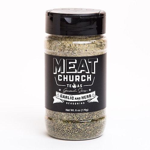 Meat Church Garlic & Herb Gourmet Spice
