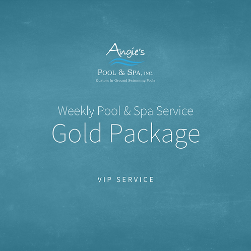 Weekly Service | Gold Package