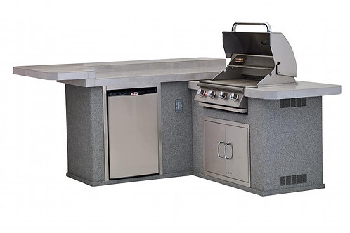Jr. Gourmet Q Bull Outdoor Kitchen