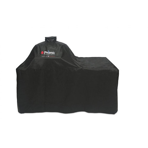 Primo Grill Cover For Oval XL In Cypress Counter Top Table