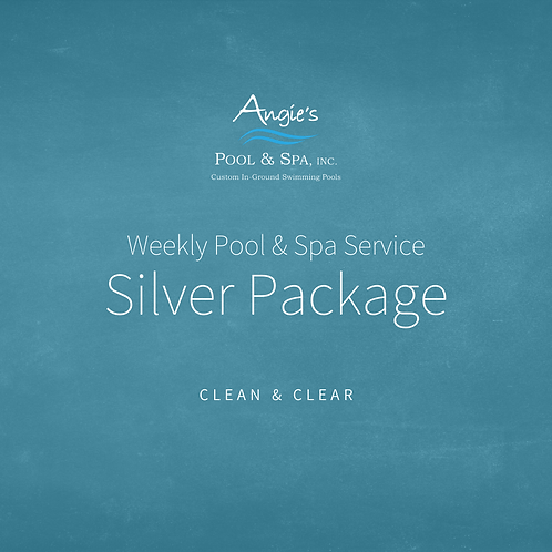 Weekly Service | Silver Package