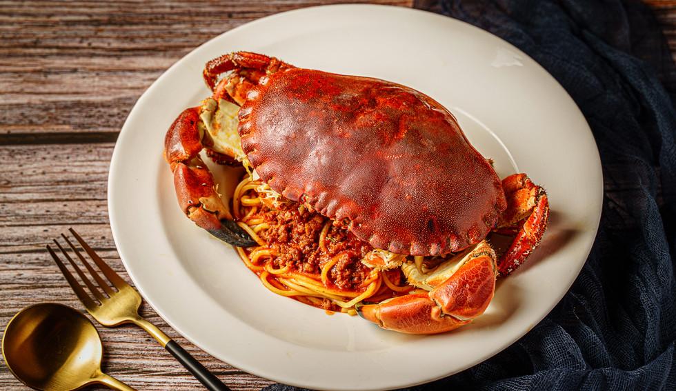 Brown Crab Spaghetti