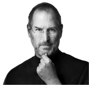 Steve Jobs - a great leader example for Tony Bilby