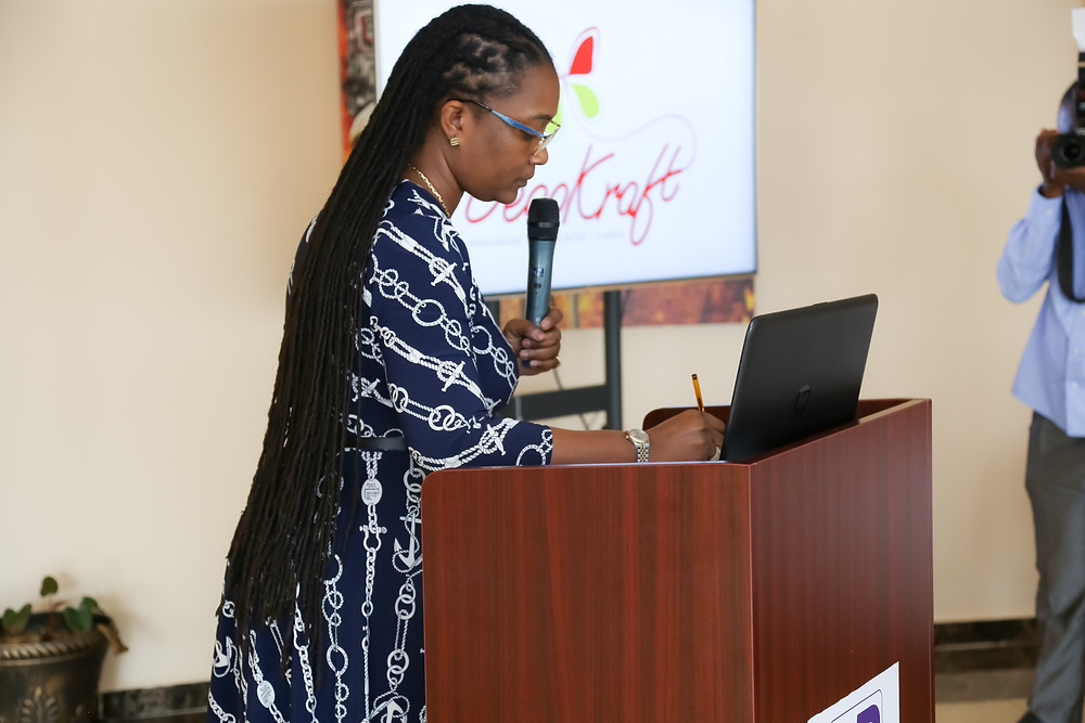 Dr. Hazel Berrard Amuah, Director of HR at Guinness Ghana Breweries Limited, a Diageo company
