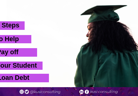 5 Steps to Help Pay Off Your Student Loan Debt