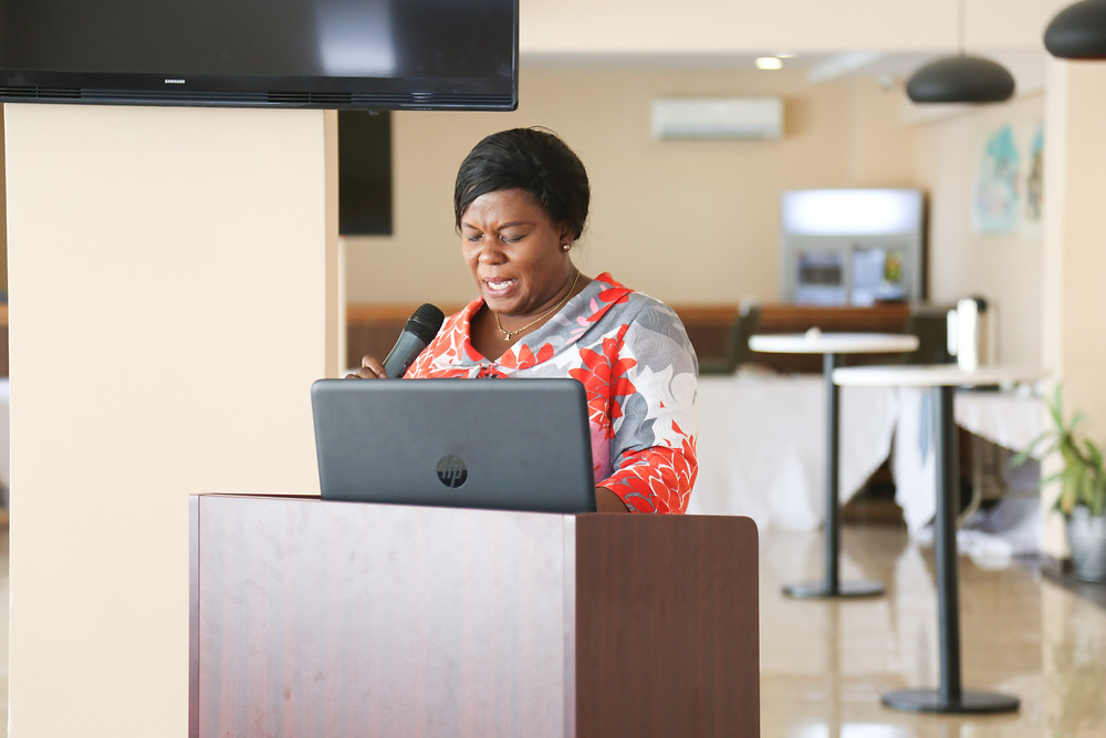 Mrs. Gwendoline Sam-Appiah, HR Manager at the Volta River Authority (VRA)