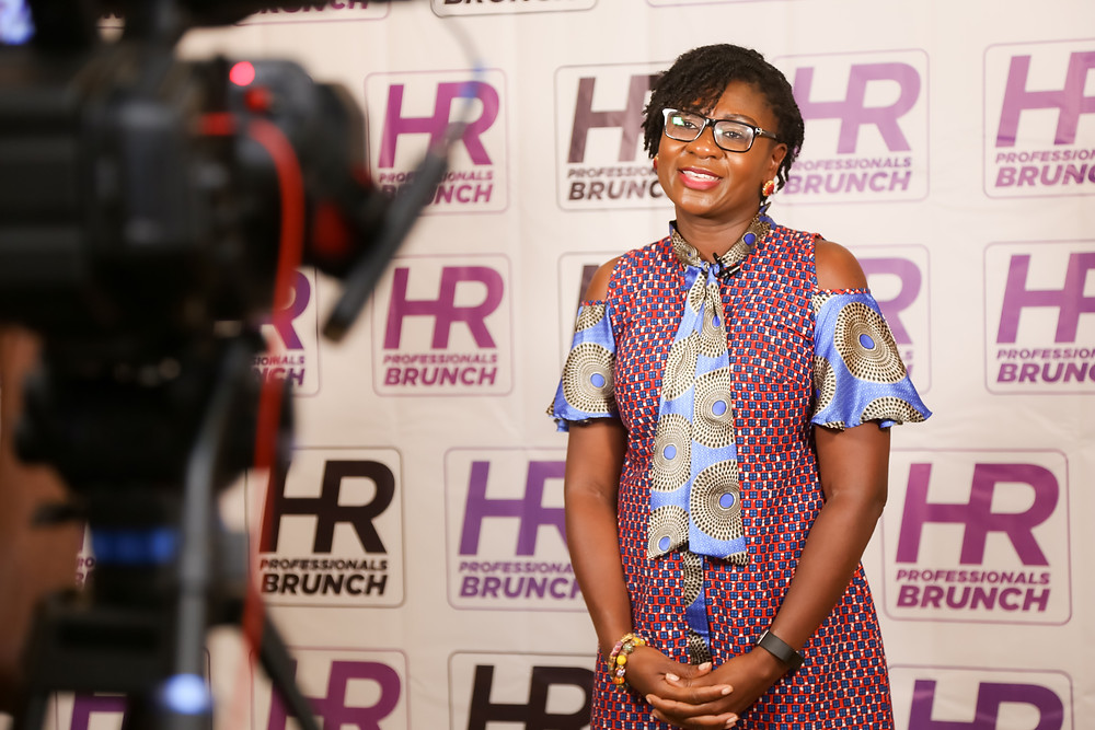 Mrs. Irene Asare, Director of HR and Business Services at Tullow Ghana Limited