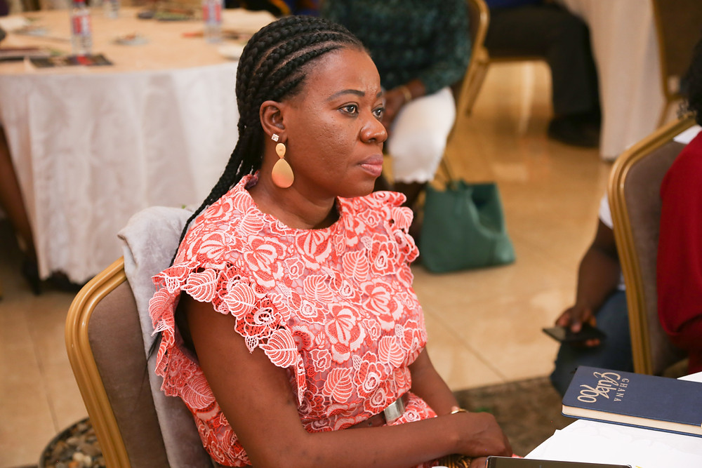 Mrs. Jennifer Anane-Nsiah, HR Manager of CitiFM and CitiTV