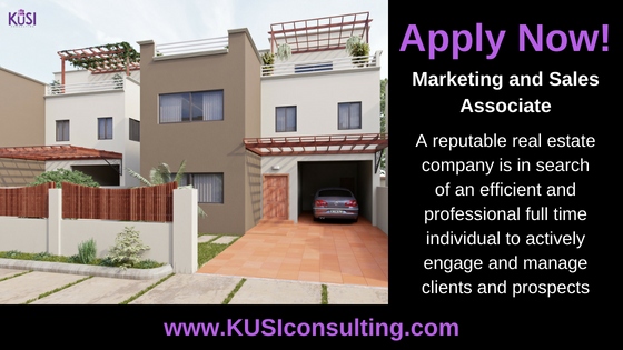 Apply Now Marketing and Sales Associate.