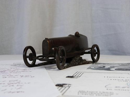 Bronze  Sculpture of the Bugatti Indianapolis race car