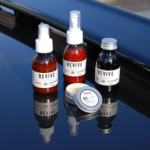 BOC REVIVE - Sample Set with Wax
