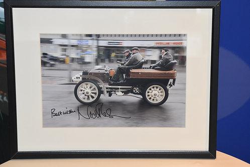 Signed Photograph by Nick Mason