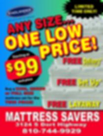Mattress Savers Flint Mattress Store  Mattress Sale Mattress Specials