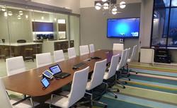 conference room av setup