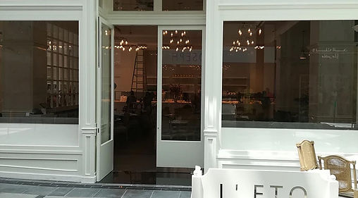 Sound System & CCTV for L'eto Caffe in C