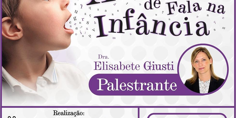 Palestra - Apraxia de Fala na Infância (1)