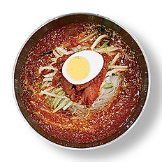 CHILLED SPICY BUCKWHEAT NOODLE NAEGNYEON