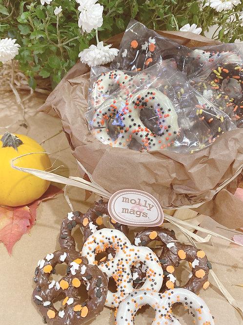 Halloween Pretzel Gift Basket
